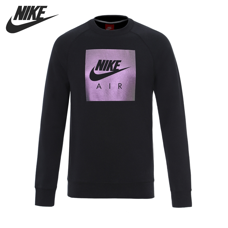 Original New Arrival 2017 NIKE AS M NSW CRW FLC AIR HRTG Men's Pullover Jerseys Sportswear шорты nike шорты nike aw77 flc short air hrtg