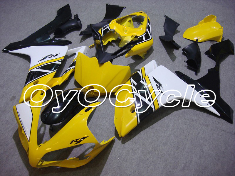 For Yamaha 07 08 YZFR1 YZF R1 YZF R1 Motorcycle Fairing Bodywork Kit ABS Plastic Injection 2007 2008 Yellow White