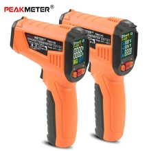 Non-Contact Handheld -50-500 degree Industrial Digital Infrared Thermometer LCD Laser IR Temperature Infrared Temp Gun xintest handheld digital industrial infrared thermometer infrared ir thermometer laser temperature gun tester 50 650c ht 817