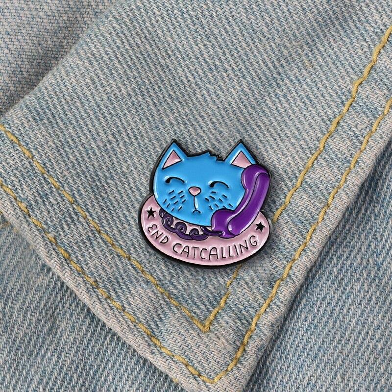 胸针猫12