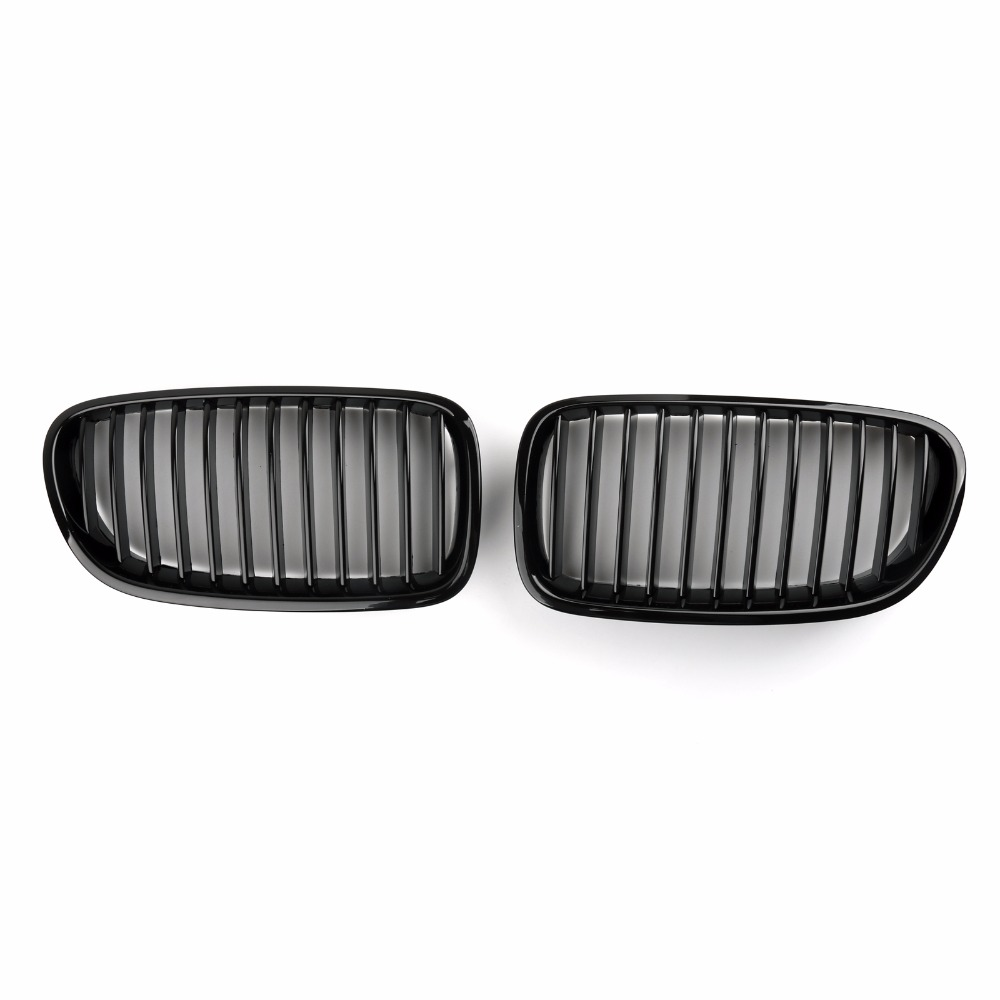 Areyourshop Car Front Kidney Grill Mesh Grille For BMW F10/F11 F18 10-2014 5 Series Gloss Black Car Styling Covers Grille front kidney grille bumper grill for bmw f30 f31 f35 320i 328i 335i 2010 2011 2012 2013 2014 glossy black car styling p356