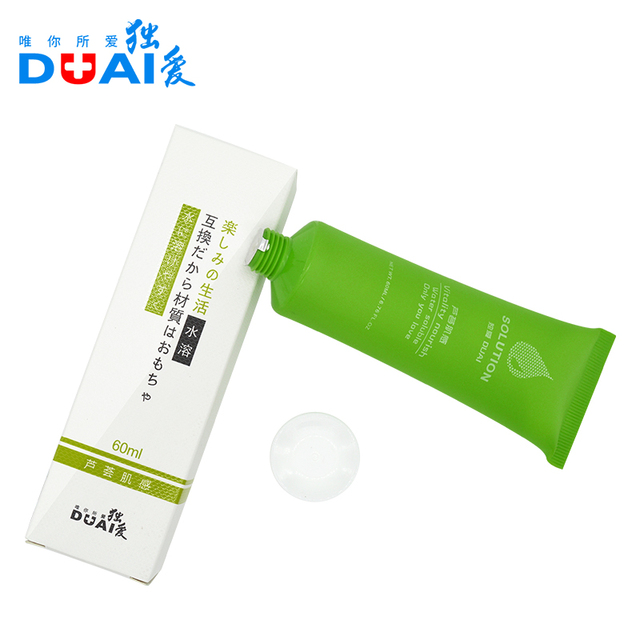 Duai lubrication Aphrodisiac Vagina Sex Toys Monogatari Silk Touch Anal Fisting Lubricant For Sex Water-soluble Exciter Gel 60g