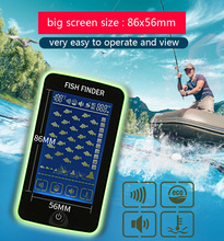 цена на Fish Finder FF718LiC Wireless Fishfinder Fishing Sonar 45M/147Feet Sonar Depth Portable Fish Finder echosonda echo sounder