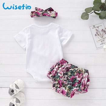 Newborn baby girl clothes carters baby girl clothing sets 2019 summer floral baby girl romper with lace skirt bebes headbandsD40 1