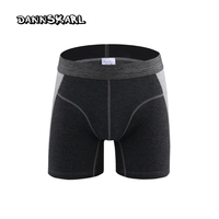New Style High Quality Fashion Men S Boxers Protruding Lengthen Straight Sport Male Cotton Shorts Pants