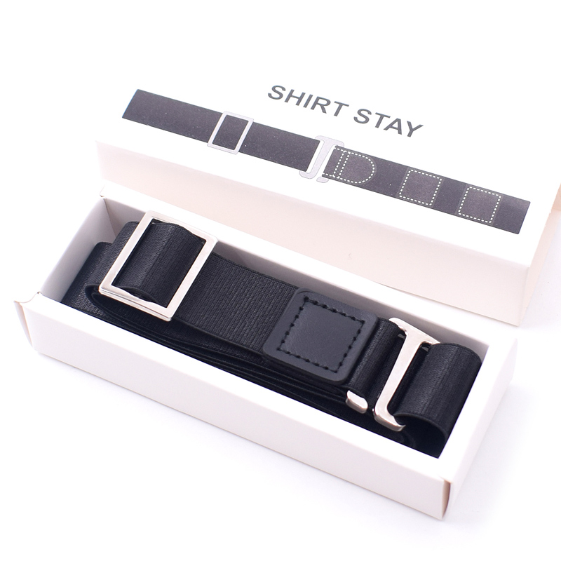 Hot Sale  Multifunction Hot Shirt Holder Adjustable Near Shirt Stay Best Belt For Women Men Work Interview  OH66