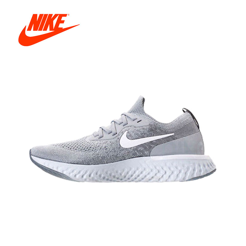Original New Arrival Authentic Nike Epic React Flyknit Women's Breathable Running Shoes Sport Outdoor Sneakers AQ0070-002 кроссовки nike [3 flyknit lunar 698181 002 004 010
