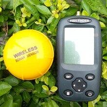 ใหม่FF998 finderปลาWaterpoofไร้สายFishfinderเซ็นเซอร์125กิโลเฮิร์ตซ์Sonarสะท้อนSounderอัพเกรดภาษาอังกฤษ/เมนูแบบชาร์จ
