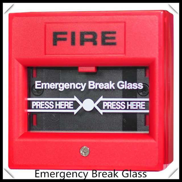 Glass broken button 2 wire conventional manual call point for Fire sprinkler system cost calculator