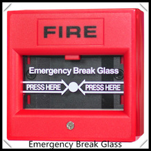 glass broken button  2-wire Conventional Manual Call Point  fire alarm system