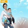 Respirável 2 Em 1 Baby Carrier Baby Sling Hipseat Frente enfrentando Envoltório Do Bebê Mochila Para 3-36 Meses Infantil Portador de bebê Mochila Infanti