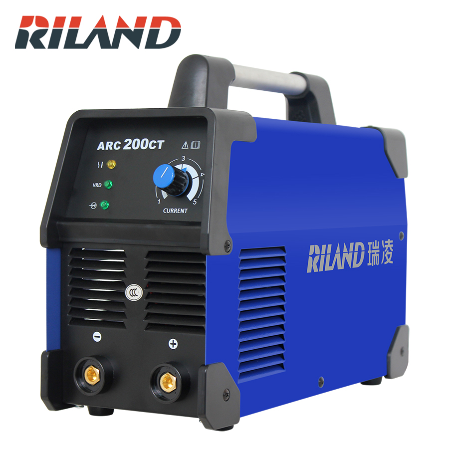RILAND MMA ARC 200CT Welder Welding Inverter220V IGBT Machine Single phase For Home Usage