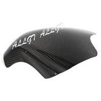 ALLGT New Carbon Fiber Fuel Gas Tank Cover Protector For Yamaha YZF R6 2008 2009 2010 2011 2012 2013 2014 2015