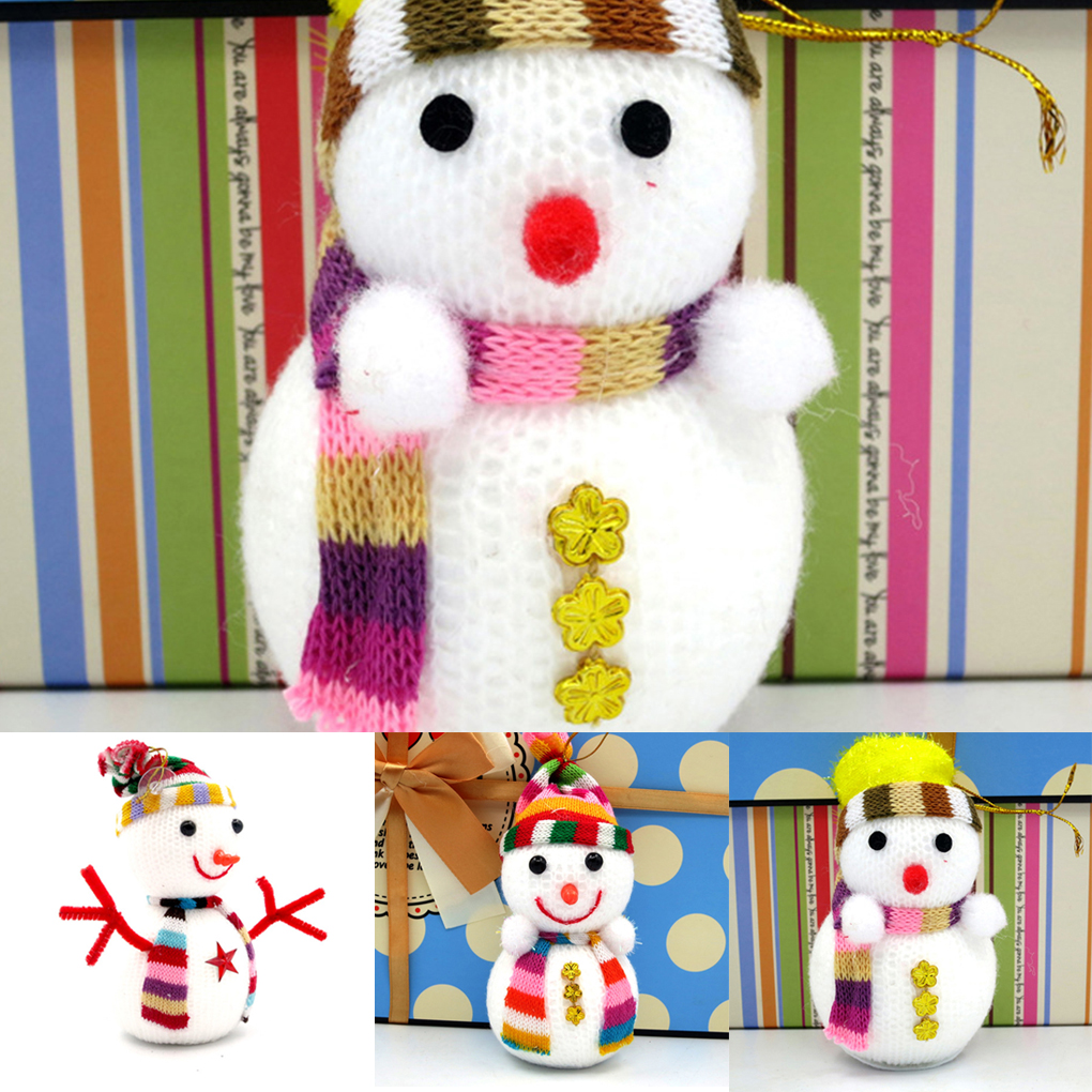 Christmas tree decorations Christmas snowman toy doll Christmas gifts doll SML ...