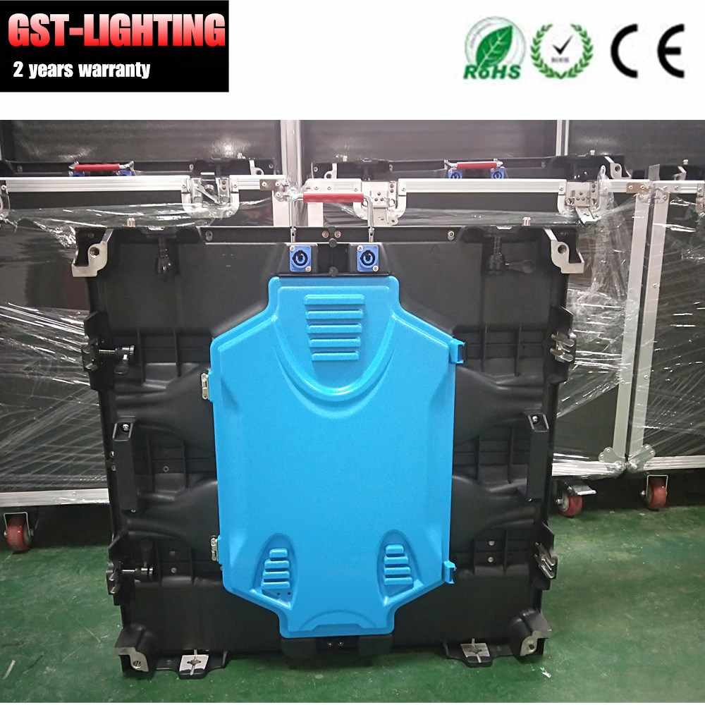 4pcs /lot road case package indoor p5 led screen 640mm*640mm Diecasting Aluminum led display video