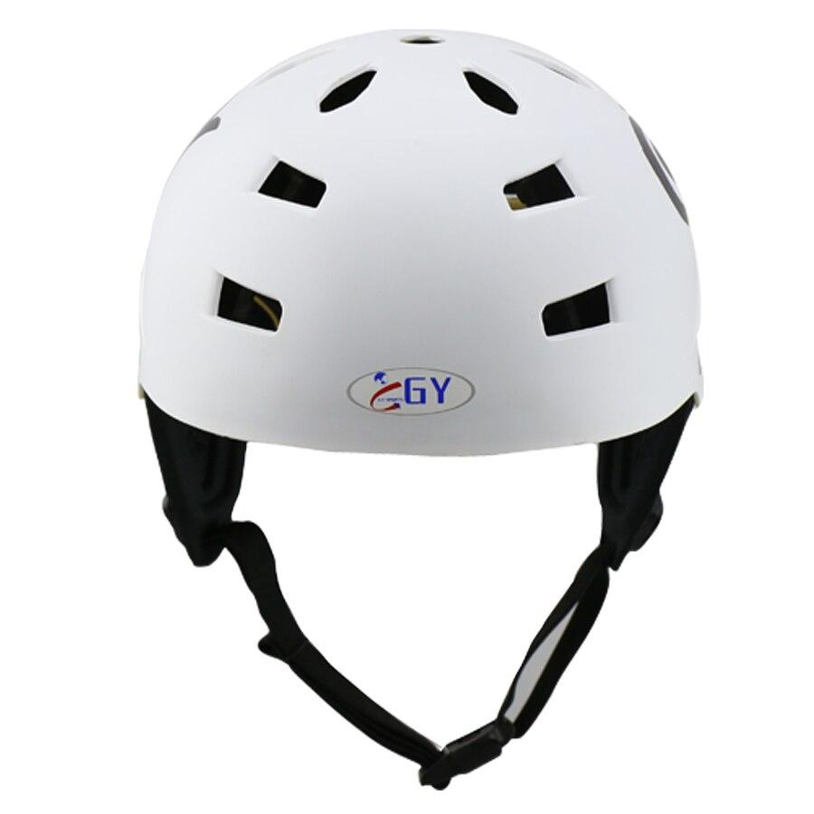 Бесплатная доставка ABS воды шлем Хождение kayak водных видов спорта шлем с съемные амбушюры