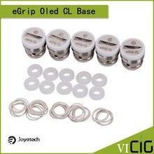 100% original joyetech egrip oled-cl base sólo se utiliza para el ego uno bobinas 5 unids/lote