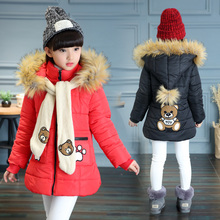 2017 Winter explosion models girls cartoon version of special sales in the United States the size of children's clothing