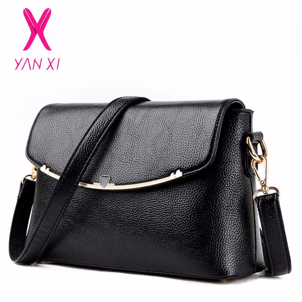 4e36dc3e31 YANXI Promotions Sale Ladies Designer Handbags PU Leather Shoulder Tote For Women  Japan And Korean Style Fashion Crossbody Bags-in Crossbody Bags from ...