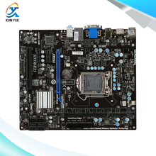 MSI H55M-E23 Original Used Desktop Материнских Плат H55 Сокет LGA 1156 DDR3 i3 i5 i7 8 Г SATA2 Micro-ATX