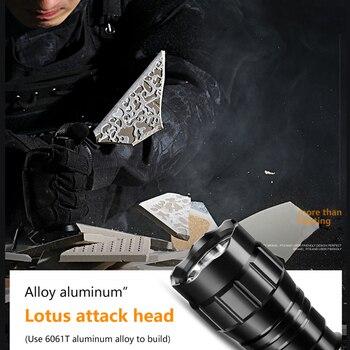 501B التكتيكية الكشفية ضوء الصيد مضيا بندقية سلاح ضوء + مفتاح ضغط + 20 مللي متر السكك الحديدية برميل جبل + 18650 + شاحن