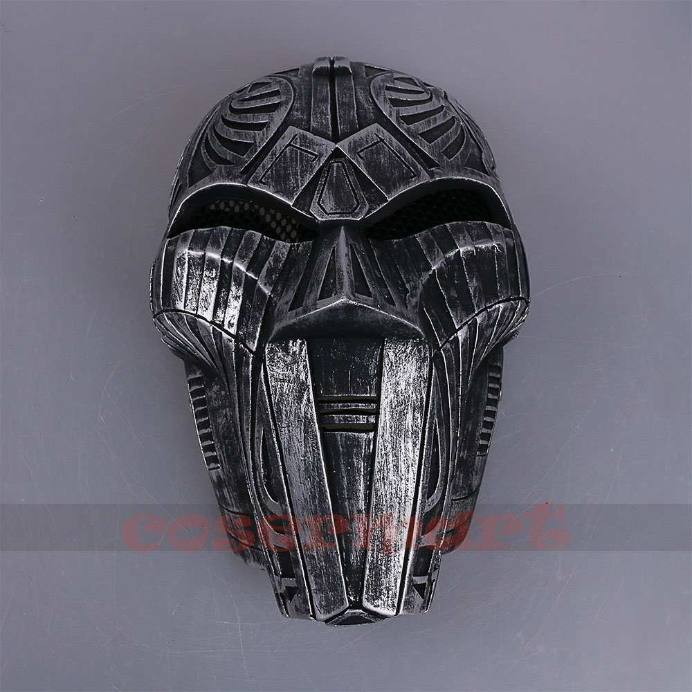 2017 Mowie Star Wars 7 The Force Awakens Mask Sith Lord Mask Cosplay Costume Resin Halloween Carnival Party (2)