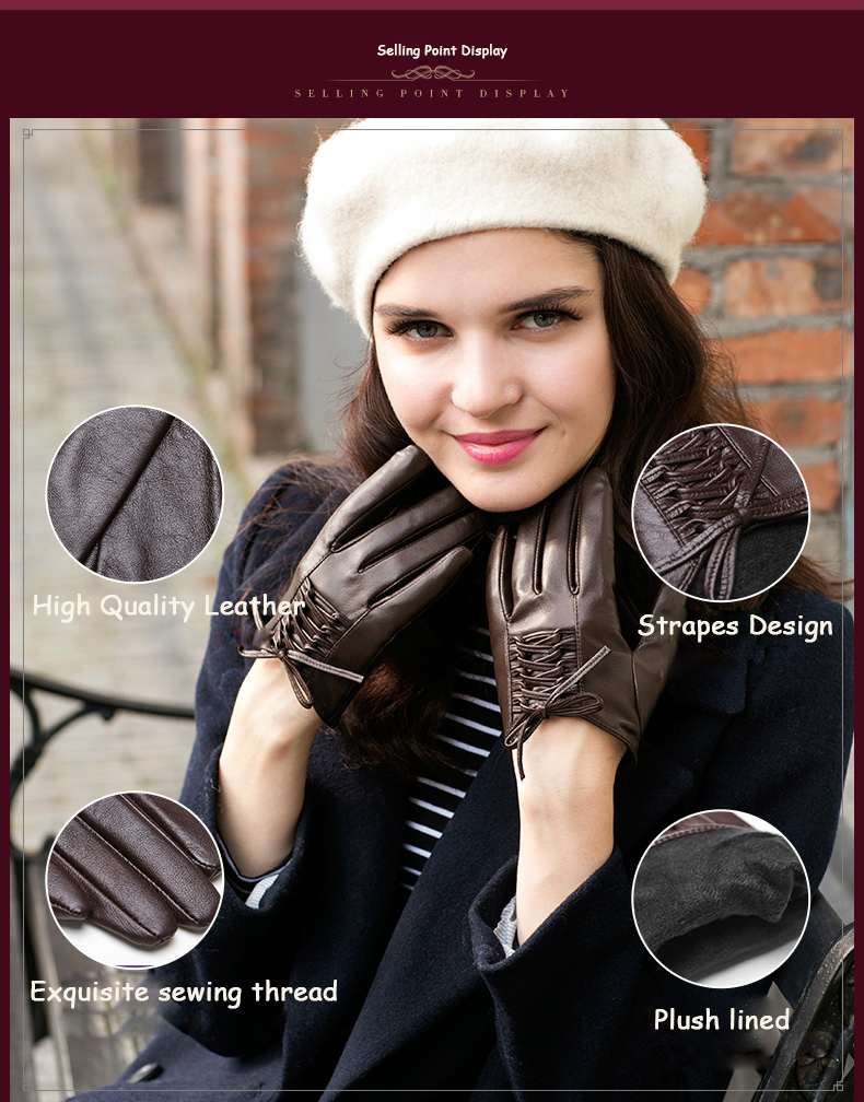 Genuine Lined Trend Fingers 11