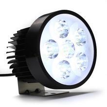 High Power 18W super bright Motorcycle Led light Fog White Headlight Working Light 12V/80V HA10584