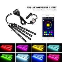 Car Interior Neon Lamp For Android IOS APP Control For BMW E46 E39 E90 E60 E36