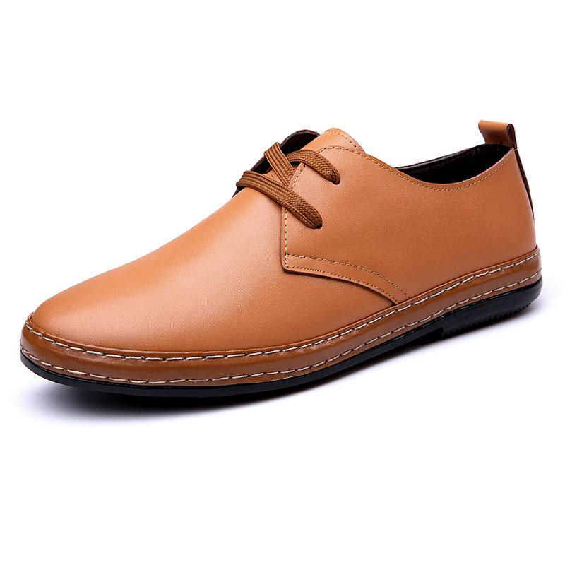 2017 Mbt zapatos de Los Hombres Oxfords Casual Zapatos de Cuero Suave de La Mane