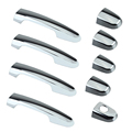 1set DSP Chrome Door Handle Covers fit for TOYOTA Corolla with PSG Keyhole