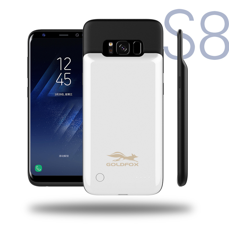 For Samsung galaxy S8 4000mAH Battery Charger Case Cover For Galaxy S8 External Backup Battery