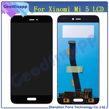 For Xiaomi Mi5 Mi 5 LCD Display Digitizer Touch Screen Assembly Mi 5 Phone LCD Replacement Parts For Xiaomi Mi 5 LCD Screen(China)