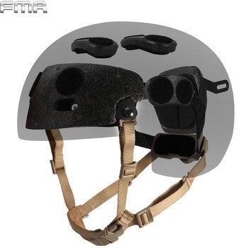 TB-FMA Регулируемый Общий шлем внутренняя подвеска страйкбол Пейнтбол шлем для охоты аксессуары для быстрого Mairtime BJ PJ шлем >> CSForce