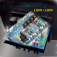 KYYSLB AC Double 16~35V 120W*2 High Power Amplifier Board A3 Full Symmetrical Double Differential Field Effect Tube IRFP240 9240