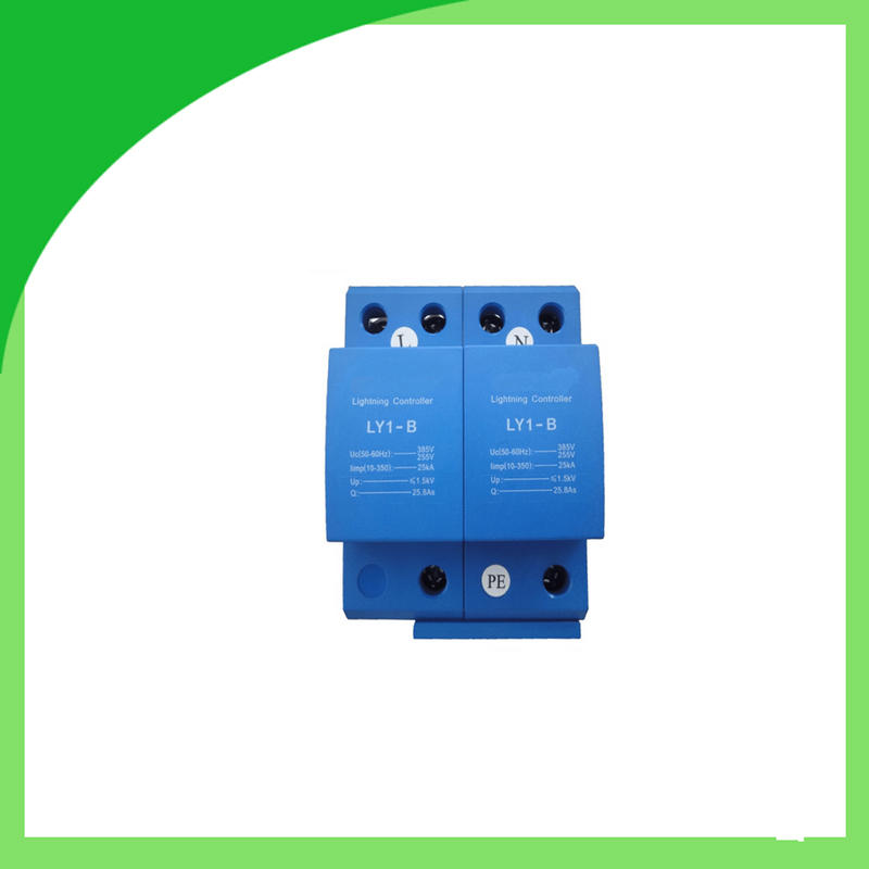 Ly1-B (10/350) 25ka 2pole AC Surge Protector Surge Suppression Device emissions reduction nox sox suppression