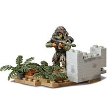 Military Series Swat Hawkeye armas de francotirador arma bloques construccion ciudad soldados figura WW2 LegoINGlys militares