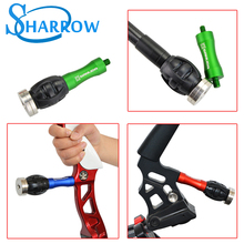 1pc Archery Bow Stabilizer Weight Ball Damping Bow Riser Handle Balance Bar Silencer Damping Ball Outdoor Shooting Accessories 1pc archery bow stabilizer shock absorbing weight ball damping bow riser handle balance bar silencer outdoor shooting accessory