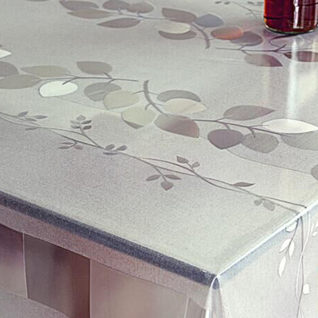 Multi Size PVC Nape Table Cloth Plastic Waterproof Oil Proof Dining  Tablecloth Plaid Printed Table