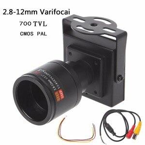 Image 2 - 700TVL Mini caméra de vidéosurveillance avec objectif 2.8 12mm, pour Surveillance de sécurité, dépassement de voiture