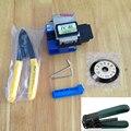 8IN1metal fibra Cleaver SUMOTOMO FC-6S Optical FIBER Cleaver com lâmina de corte, Cfs-2 fibra cortador, Cale stripper