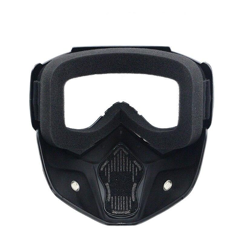 NYHET Dammsäker motorcykelhjälm Mask retro vintage mask med - Motorcykel tillbehör och delar - Foto 5