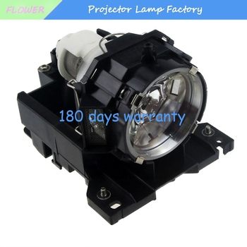 DT00771 / CPX605WLAMP - Lamp With Housing For Hitachi CP-X605 CP-X608 CP-X505 CP-X600 PJ1158 Projectors dt01123 compatible lamp with housing for hitachi cp d31n imagepro 8112 projectors
