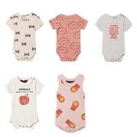 BOBOZONE 2018 New Baby Boys Girls Baby Overalls Infant Newborns Jumpsuits Kids Clothing Kids Child Clothes