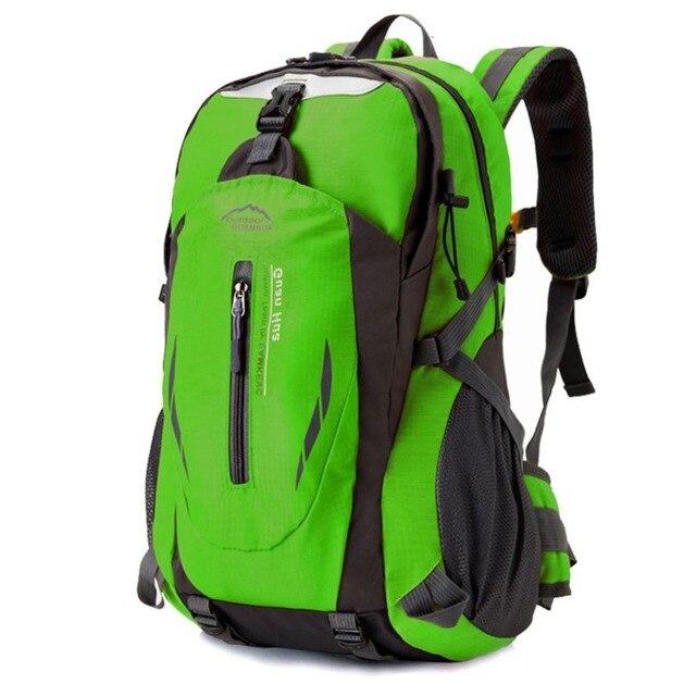 f8327f70252 US $16.62 47% OFF 35L Hot Sale Nylon Black Backpack Waterproof Men's Back  Pack Laptop Mochila High Quality Designer Backpacks Male Escolar-in ...