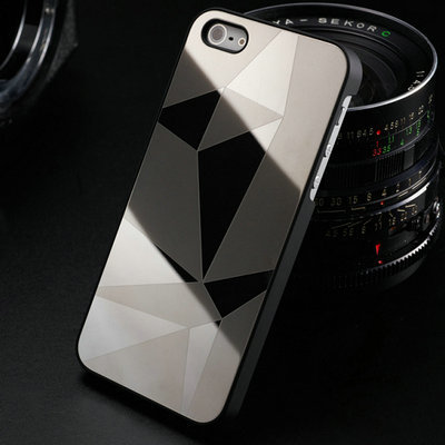 Mirror Stylish Aluminum Hard Phone Case for iPhone 5 5S 5G SE Luxury back Cover for iPhone5 Bling Aluminium Metal New Arrival