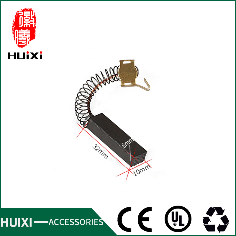 2PC Vacuum Cleaner Accessories 32*10*6mm Motor Carbon Brush Suitable for various brands blowing machine High Quality 30 10 6 5mm motor carbon brush of vacuum cleaner with high quality of vacuum cleaner parts for various vacuum cleaner