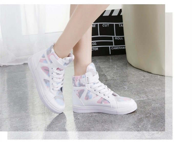 LOVE Fashion High Top Casual Shoes For Women Canvas Shoes 2015 New Autumn Ankle Boots Breathable Ladies Shoes Student Flats YD28 (3)