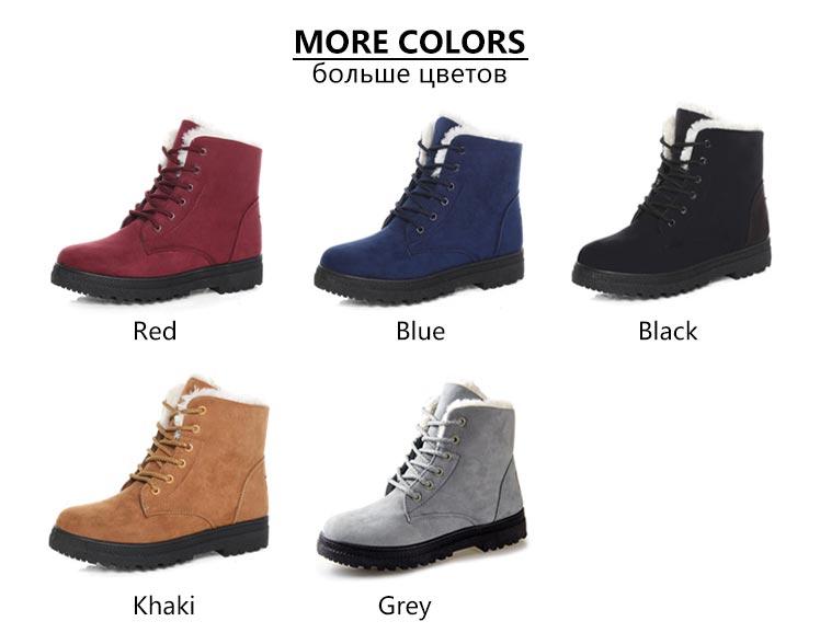 Women Shoes lace-up Winter Shoes 23