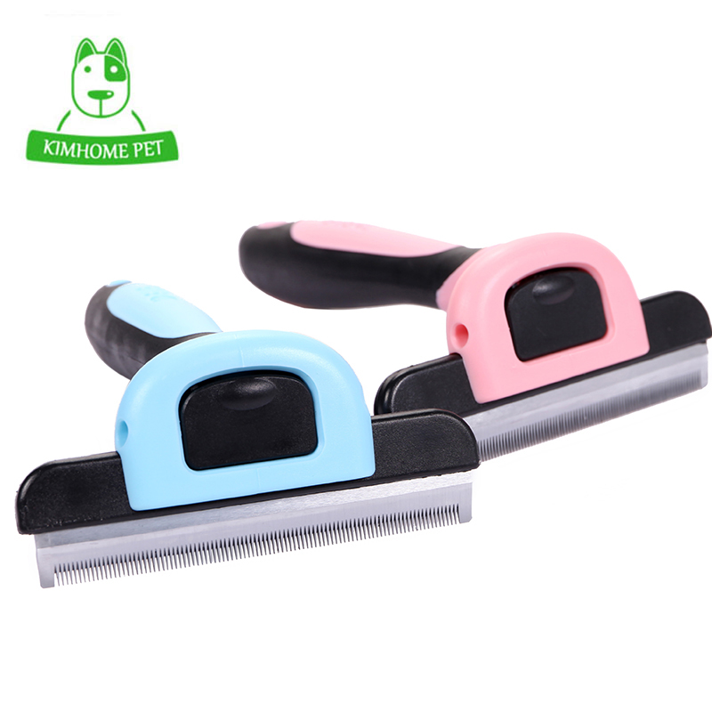 Dog Brush Pet Grooming Tool Hair Removal Comb for Dogs Cats Brush Detachable Hair Shedding Trimming Wholesale